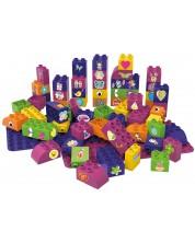 Конструктор BioBuddi - Образователни кубчета, 60 броя, за момичета