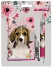 Комплект таен дневник с химикалка Paso Dog - 100 листа -1