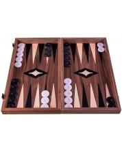 Комплект шах и табла Manopoulos - Орех, 38 x 20 cm -1