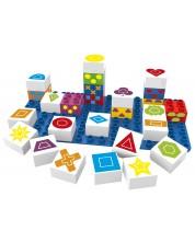 Конструктор BioBuddi - Кубчета с геометрични фигури -1