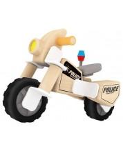 Дървен конструктор Classic World - Полицейски мотор -1