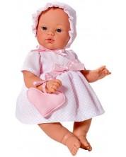 Кукла Asi - Бебе Коке, с розова рокля и чантичка