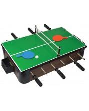 Комплект игри за маса Ambassador 5 в 1 - Тенис на маса, Шах, Дама, Табла и Джага