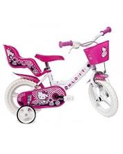 """Детско колело Dino Bikes - Hello Kitty, 12"""""""