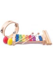 Комплект дървени музикални инструменти Woody