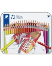 Цветни моливи Staedtler Comic 175 - 72 цвята, в метална кутия