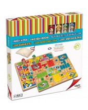 Комплект класически игри Cayro - Не се сърди човече и Гъска