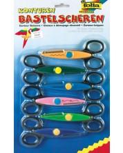 Комплект контурни ножици за апликации Folia