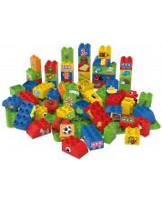 Конструктор BioBuddi - Образователни кубчета, 60 броя, за момчета -1