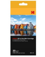 Тонер Kodak - All-In-One, 30 pack, за фотопринтер Mini 2 и камера Mini Shot