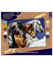 Творчески комплект за рисуване KSG Crafts – Диви коне