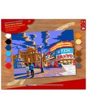 Творчески комплект за рисуване KSG Crafts - Лондон Пикадили