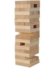 Дървена игра Eichhorn - Балансова кула -1