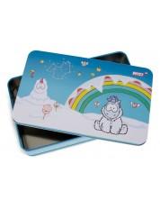 Кутия за бисквити Nici - Снежен еднорог