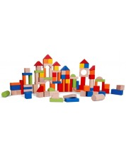 Дървен конструктор Classic World – Кубчета за нареждане