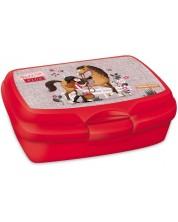 Кутия за храна Ars Una Born to Ride - Червена