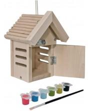 Дървен комплект Eichhorn - Къща за калинки -1
