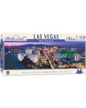 Панорамен пъзел Master Pieces от 1000 части - Лас Вегас, Невада -1