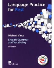 Language Practice for First + MPO: English Grammar and Vocabulary - B2 (no key) / Английски език (Граматика и лексика - без отговори)