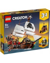Конструктор 3 в 1 Lego Creator - Пиратски кораб (31109) -1