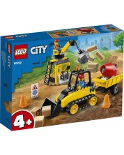 Конструктор Lego City Great Vehicles - Строителен булдозер (60252)