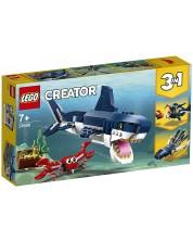 Конструктор 3 в 1 Lego Creator - Създания от морските дълбини (31088)
