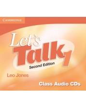 Let's Talk Level 1 Class Audio CDs (3)