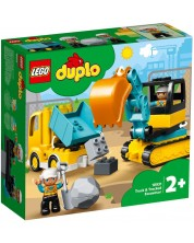 Конструктор Lego Duplo Town - Камион и екскаватор (10931)