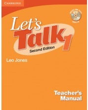 Let's Talk Level 1 Teacher's Manual with Audio CD