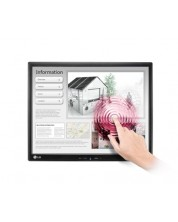 "LG 19MB15T, 18.9"" 5:4 LED Anti-Glare, IPS Panel, 14ms, 5000000:1 DFC, 250cd, 1280x1024, Touch-Screen, USB -1"