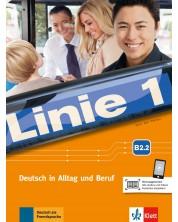 Linie 1 B2.2 Kurs- und Ubungsbuch mit audios un dvideos -1