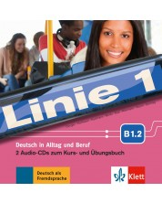 Linie 1 B1.2 Audio-CDs (2) zum Kurs- und Übungsbuch