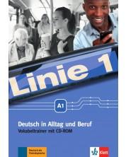 Linie 1 Vokabeltainer: Немски език - ниво A1 (тетрадка-речник)