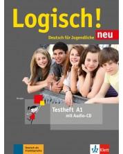 Logisch! Neu A1, Testheft mit Audio-CD
