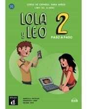 Lola y Leo 2 paso a paso A1.1-A1.2 libro alumno+Aud-MP3 descargable -1