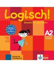Logisch! A2, 2 Audio-CDs zum Kursbuch