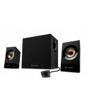 Аудио система Logitech - Z533, 2.1, черна -1
