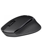 Мишка Logitech B330 Silent Plus - безжична, черна -1