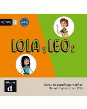Lola y Leo 2 – Llave USB con libro digital -1