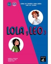Lola y Leo 3 A2.1 libro alumno+Aud-MP3 descargable -1
