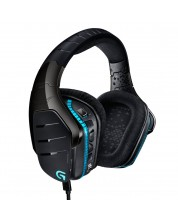 Гейминг слушалки Logitech G633 Artemis Spectrum - RGB, 7.1 Surround, черни (разопаковани) -1