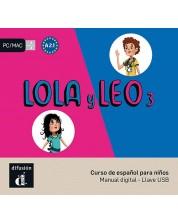 Lola y Leo 3 – Llave USB con libro digital -1