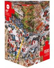 Пъзел Heye от 1500 части - Монако Класик, Жан-Жак Луп