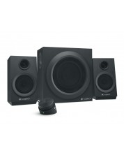 Аудио система Logitech - Z333, 2.1, черна -1