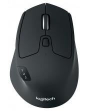 Безжична мишка Logitech - M720 Triathlon, черна -1