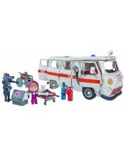 Комплект играчки Simba Toys Маша и Мечока - Линейката на вълците