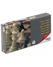 Магнитна игра Cayro - Шах и дама, средна (24 x 24)