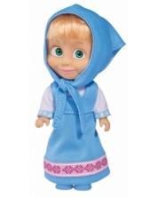 Кукла Simba Toys - Маша със синя рокля и забрадка