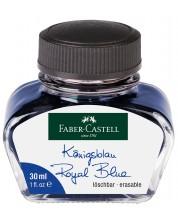 Мастило за писалка Faber-Castell - Синьо, 30 ml