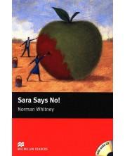 Macmillan Readers: Sara says No + CD (ниво Starter)